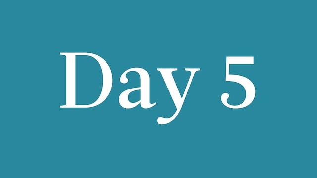 Day 5: Katia