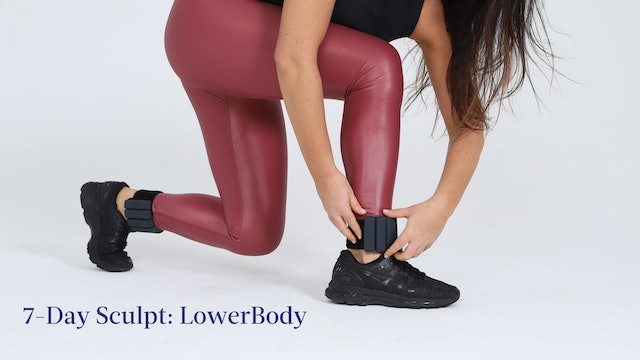 7-Day Sculpt: LowerBody