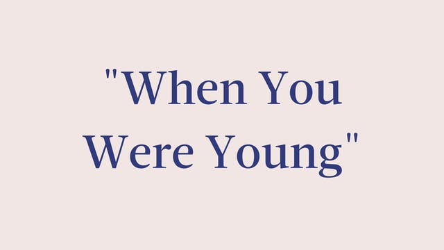 """When You Were Young"" Breakdown - Sig..."