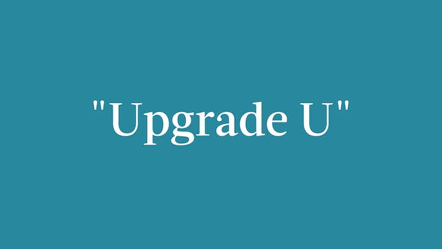 """Upgrade U"" Breakdown - Full Out"
