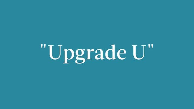 """Upgrade U"" Breakdown - Full Out"