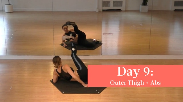 Day 9 - 005 Outer Thigh + 009 Abs