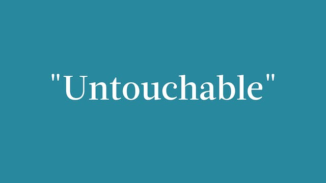 """Untouchable"" Breakdown - Signature"