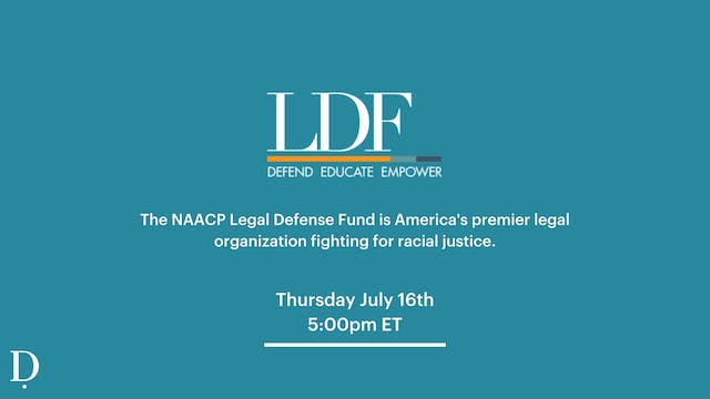 Private LIVE NAACP Donation Class - 7/16