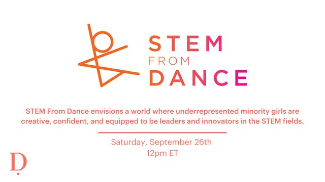 Private LIVE STEM From Dance Donation Class - 9/26