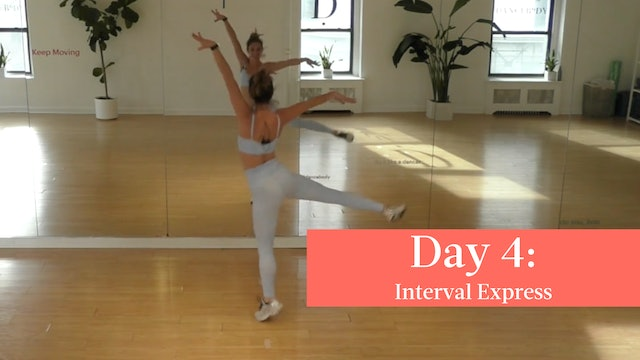 Day 4 - 004 Interval Express