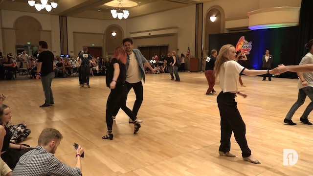 2018 Desert City Swing Intermediate Strictly Swing Final