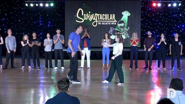 2019 Swingtacular Advanced Jack and Jill Final