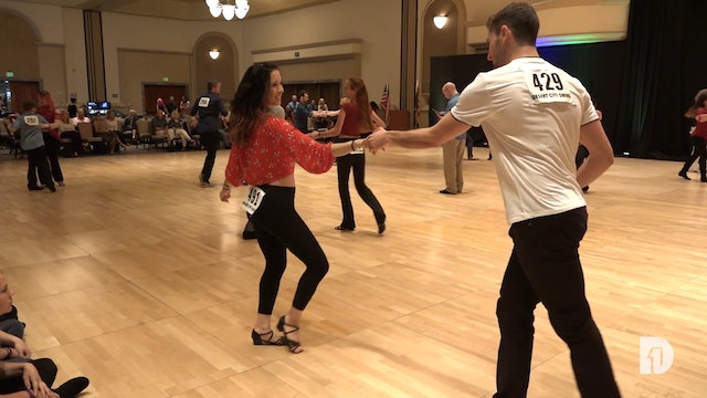 2018 Desert City Swing Intermediate Jack and Jill Semi-Final