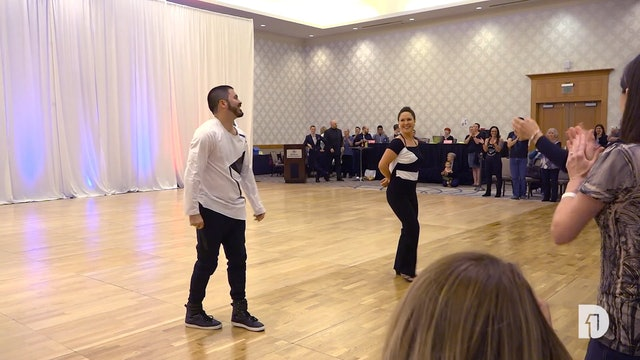 2018 Bridge Town Swing Rising Star Routine Demo