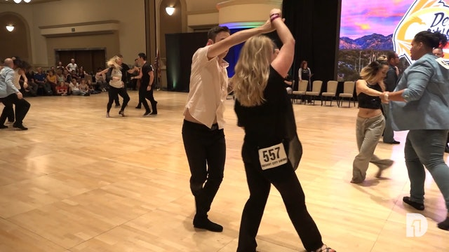 2018 Desert City Swing Champions Jack and Jill Prelim