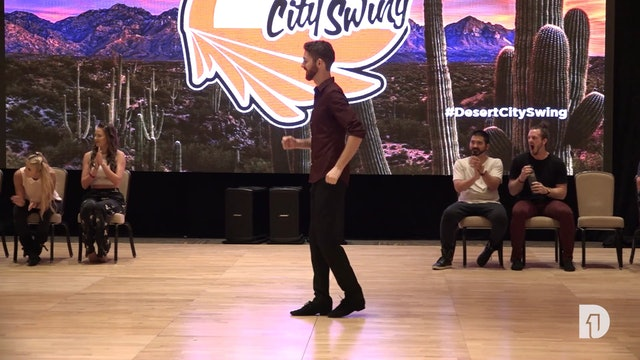2018 Desert City Swing All-Star Jack and Jill Final