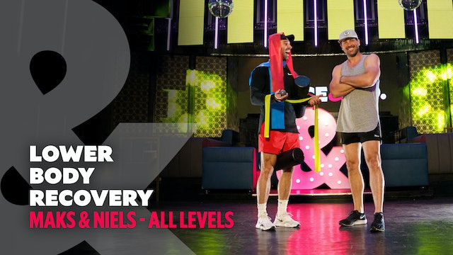 TRAILER: Maks & Niels - Lower Body Recovery - All Levels