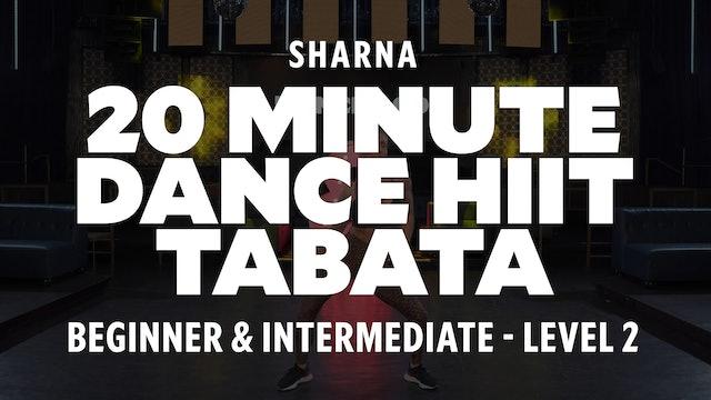 Sharna - 20 Min Dance HIIT- Tabata TRAILER