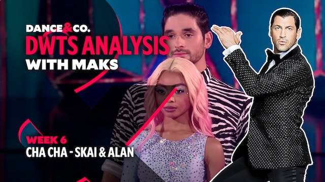 DWTS MAKS ANALYSIS: Week 6 - Skai Jac...