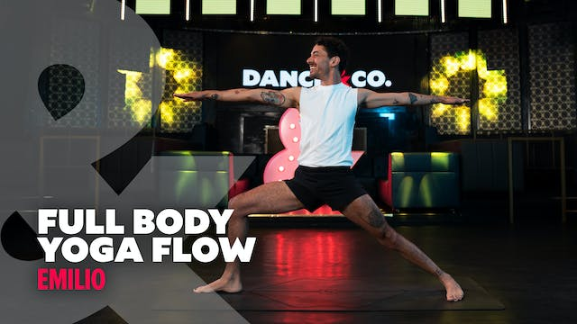 Emilio - Full Body Yoga Flow