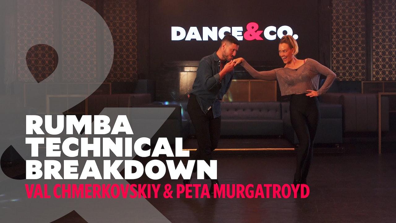 Rumba Technical Breakdown - Val Chmerkovskiy & Peta