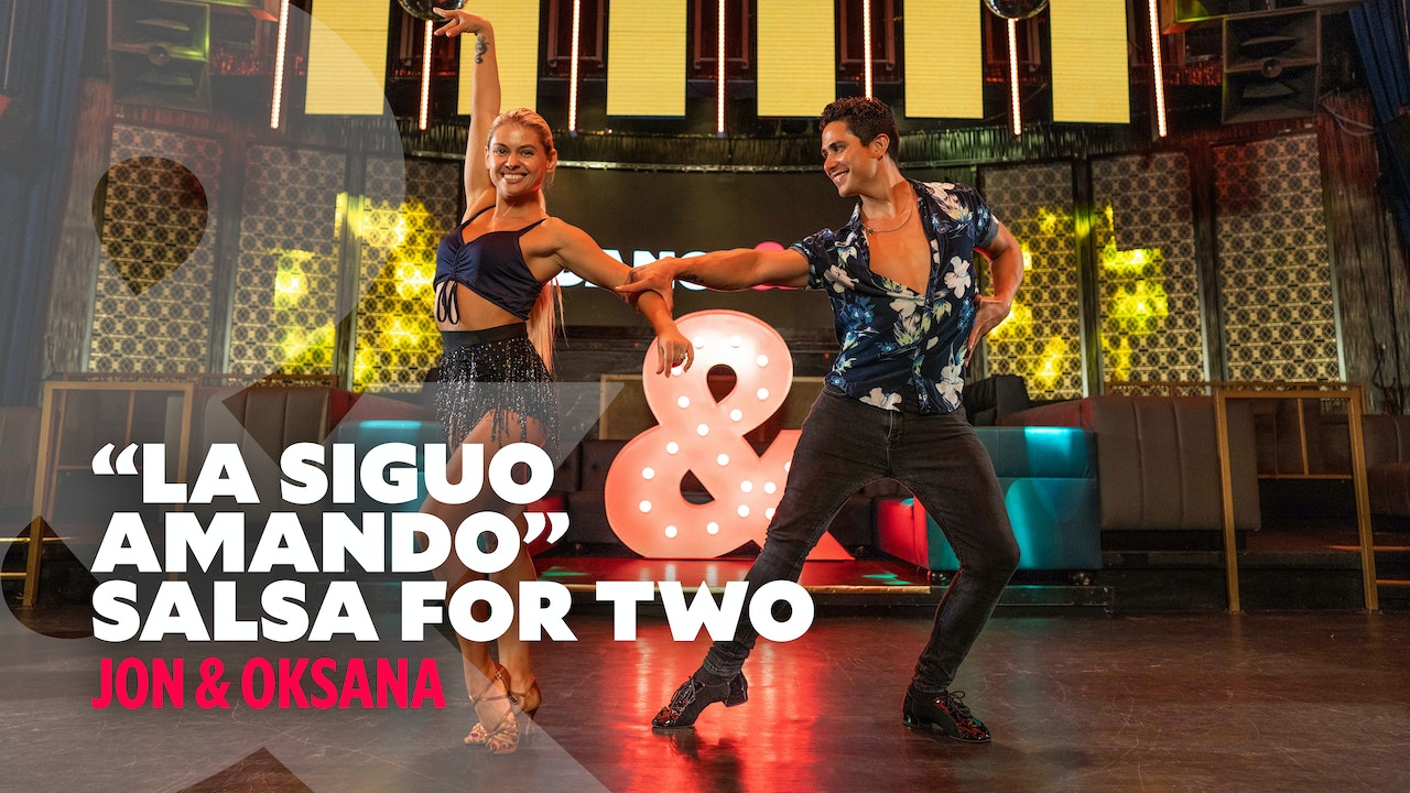 "Jon & Oksana - ""La Siguo Amando"" - Salsa for Two"