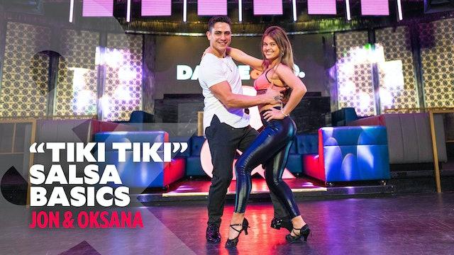 "Jon & Oksana - ""Tiki Tiki"" - Salsa Basics"