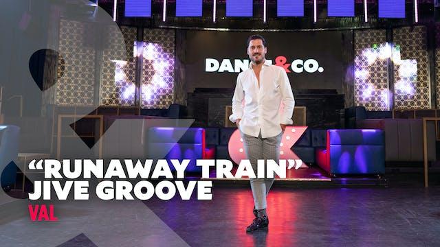 """Val - """"Runaway Train"""" - Jive Groove -..."""