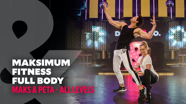 Maks & Peta - Maksimum Fitness: Full Body #8 - All Levels