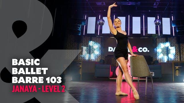 Janaya - Basic Ballet Barre 103 - Lev...