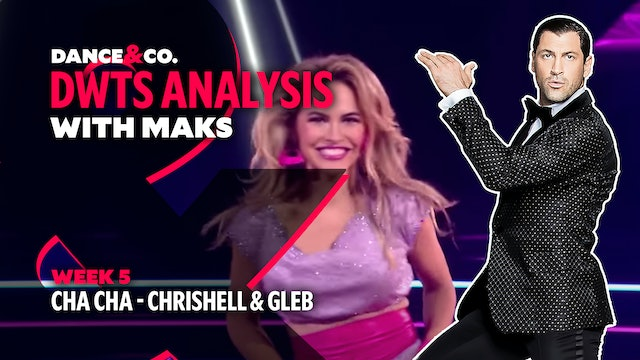 DWTS MAKS ANALYSIS: Week 5 - Chrishell Stause & Gleb Savchenko's Cha Cha