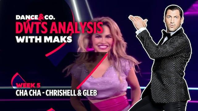 DWTS MAKS ANALYSIS: Week 5 - Chrishel...