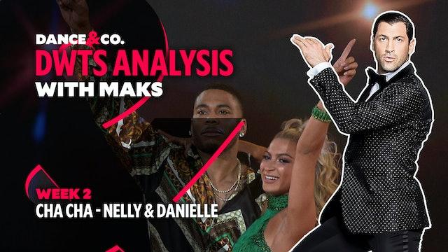 DWTS MAKS ANALYSIS: Week 2 - Nelly & Daniella Karagach's Cha Cha