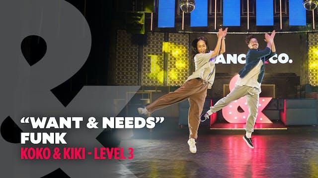 "Koko & Kiki - ""Wants & Needs"" - Funk ..."