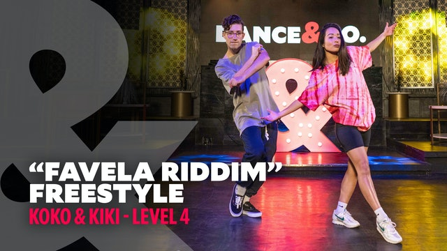 "Kiki & Koko - ""Favela Riddim"" - Freestyle - Level 4"