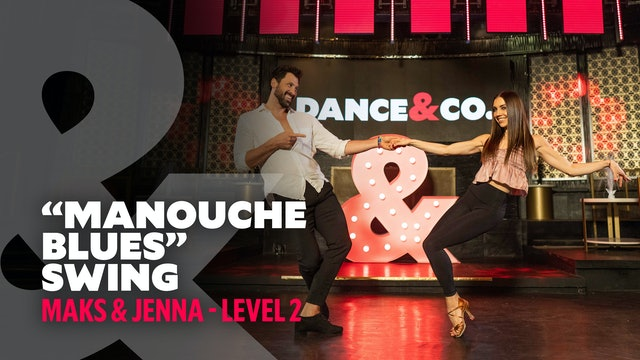 "Maks & Jenna - ""Manouche Blues"" - Swing"