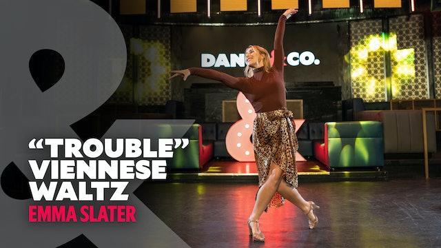"Emma Slater - ""Trouble"" - Viennese Waltz - Level 3.5"