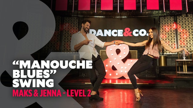 "Maks & Jenna - ""Manouche Blues"" - Swing - Level 2"