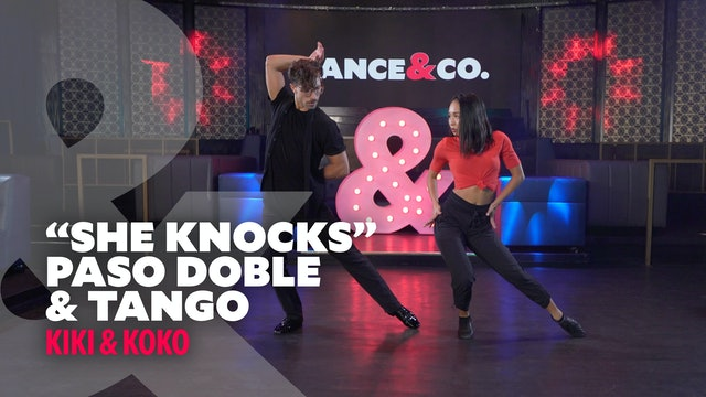 "Kiki & Koko - ""She Knocks"" - Paso Doble & Tango - Level 3"