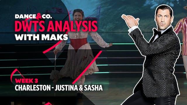 DWTS MAKS ANALYSIS: Week 3 - Justina ...