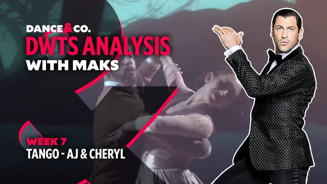 DWTS MAKS ANALYSIS: Week 7 - AJ Mclea...