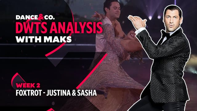 DWTS MAKS ANALYSIS: Week 2 - Justina ...