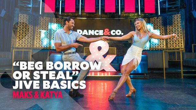 "Maks & Kateryna - ""Beg, Borrow or Steal"" - Jive Basics"