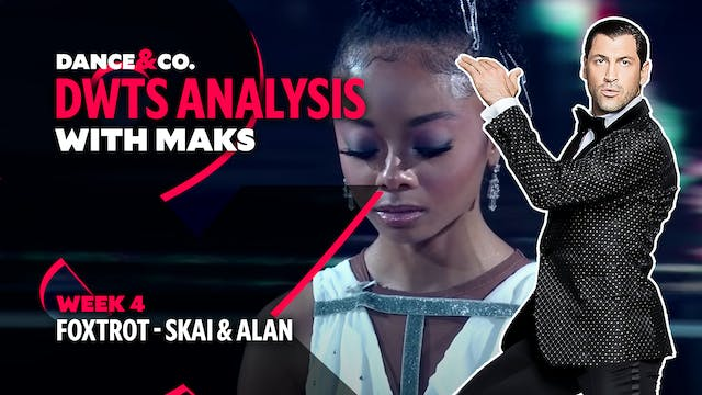 DWTS MAKS ANALYSIS: Week 4 - Skai Jac...