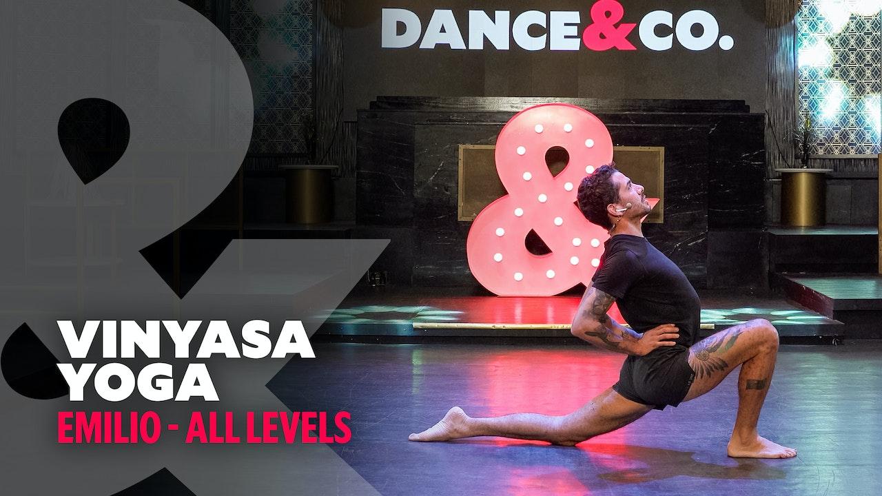 Emilio - Vinyasa Yoga - All levels