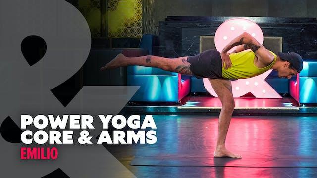 Emilio - Power Yoga: Core & Arms