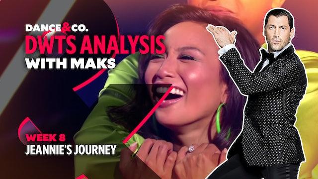 DWTS MAKS ANALYSIS: Week 8 - Jeannie's Journey