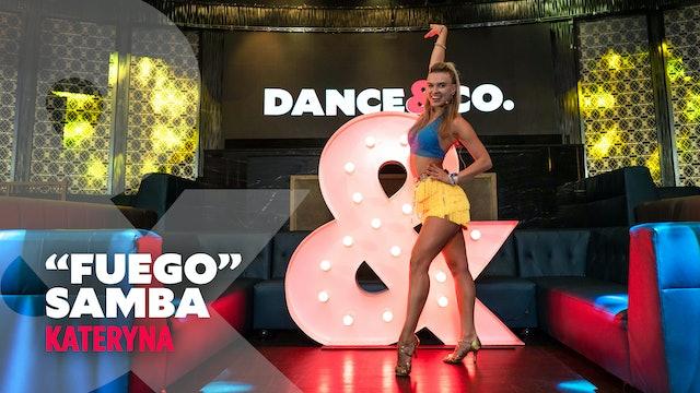 "Kateryna - ""Fuego"" - International Samba - Level 1.5"