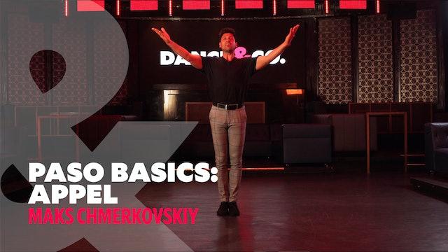 "Paso Doble Basics - ""Appel"" w/ Maks Chmerkovskiy"