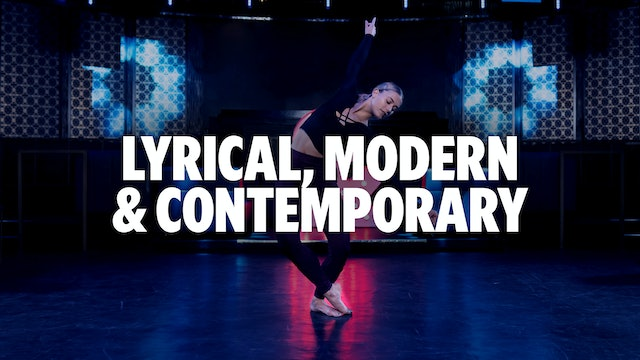 Lyrical, Modern, & Contemporary