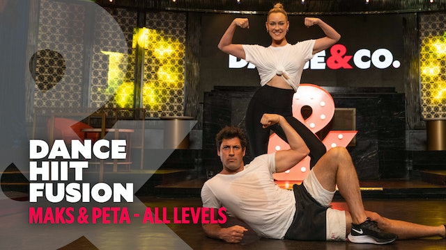 Maks & Peta - Dance HIIT Fusion - All Levels
