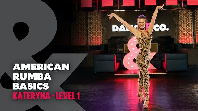 Kateryna - American Rumba Basics - Le...