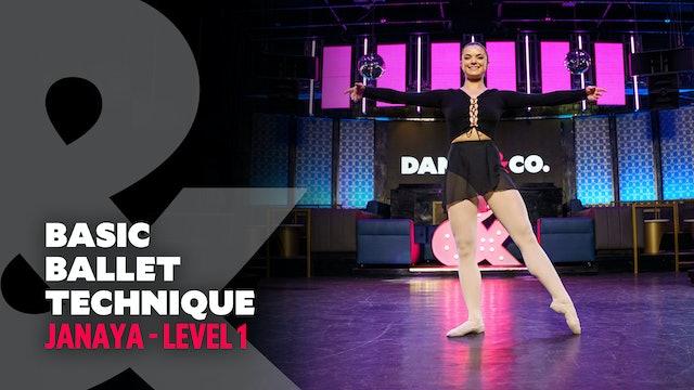 TRAILER: Janaya - Basic Ballet Technique - Level 1