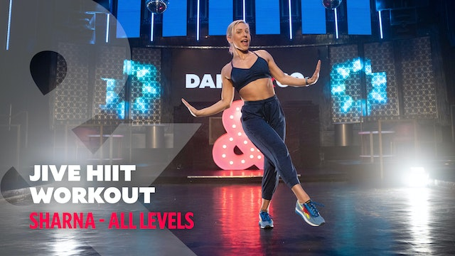 Sharna Ft. Keo Motsepe - Jive HIIT Workout - All levels